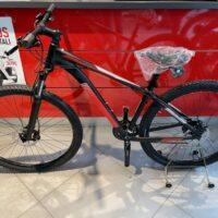 1-Bicicletta Mtb 29 Pollice Alluminio Disco Idraulico , 24 V Acera Telaio  Misura 43 Nero Opaco-Rossa