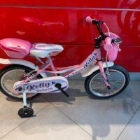"""Bicicletta Bimba Brera  """"KELLY""""  Ruota 16 Pollici""""Acciaio 1 Velocità Colore Rosa"""