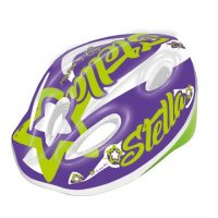 Casco Bicicletta Ciclo Bimba Mvtek 002201785 Casco Bimba STELLA Viola – Taglia S (48-52cm)