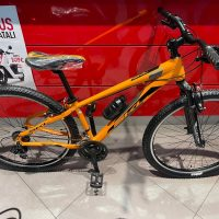 """1-Bicicletta Mtb 27,5 """"SKL """"Alluminio 21 Velocita' indice pollice Telaio Misura 36 Arancione-Nero"""