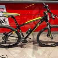 1-Bicicletta Mtb 29 FRX610 Pollice Alluminio 21 V Telaio DISCO MECCANICO   Misura 46 Nero Opaco-Gialla