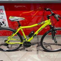 """1-Bicicletta Mtb 27,5 """"SKL """"Alluminio Telaio Misura 46 Gialla-Nero"""