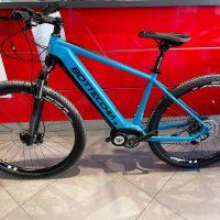 """Bicicletta Mtb  E-Bike Front  Bottecchia """"BE 33 TEASER  Motore ETR 3 Batteria 630 Panasonic  Motore 90NM """" Alluminio  Taglia Telaio 48  Colore Azzurra"""