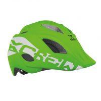 Casco Bicicletta Ciclo Bimbo Mvtek Modello Casco X-CREW Verde – Taglia S (48-52cm)