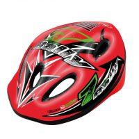 Casco Bicicletta Ciclo Bimbo Mvtek   RALLY Rosso – Taglia S (48-52cm),NUOVO