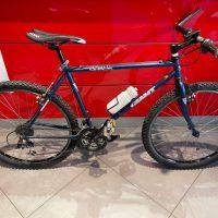 """Occasione Bicicletta Mtb 26 Pollici  Usata """"GIANT  """"FINE CR-MO  Telaio Misura 48 Blu, USATA"""