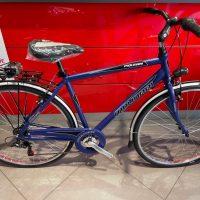 """1-Bicicletta City-Bike """"By Molinari """" Uomo Alluminio 6 V Taglia 50 colore Blu Opaca"""