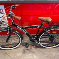 Bicicletta Muscolare Nilox Modello Unisex / Sport Nuova mai usata sella marrone e manopole marroni 21 velocita' cambio shimano ,NUOVA