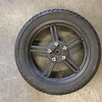 Ruota Cerchio Posteriore Agility R16 plus 125-150 cc con Disco Colore Nero  , USATO