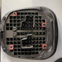 Staffa Originale Supporto  Bauletto in Plastica Agility 50 – 125 – 150 cc R 16 plus , USATO