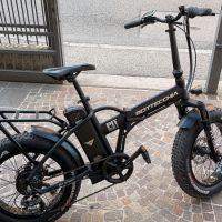 """Occasione Bicicletta E-Bike BOTTECCHIA  """"BE 01 PIT BULL FAT 20  Motore Ruota posteriore  Batteria  522 Wh  Alluminio Donna Colore Nera  Opaca , USATO"""