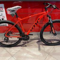 1-Bicicletta Mtb 29 Pollice SDM Alluminio 21 V Telaio DISCO MECCANICO   Misura 54 Rosso Lucido