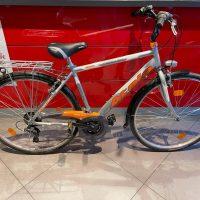 Occasione Bicicletta Atala Freeway  City Uomo 28 Pollici Alluminio completa di cestino 7 Velocità Usata  Misura 48 Colore Argento-Arancio, USATA